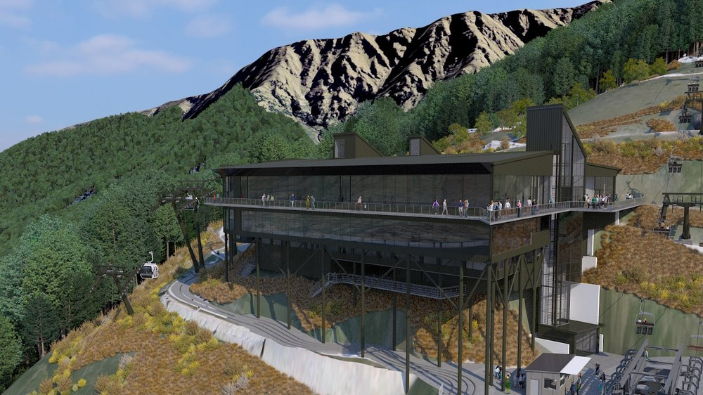 The redevelopment will increase the capacity for gondola passengers and improve the overall guest experience with additional services and amenities.