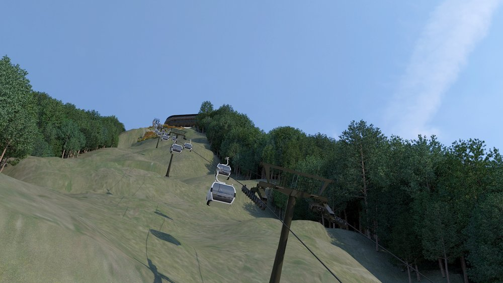 A new state-of-the-art gondola system is included.
