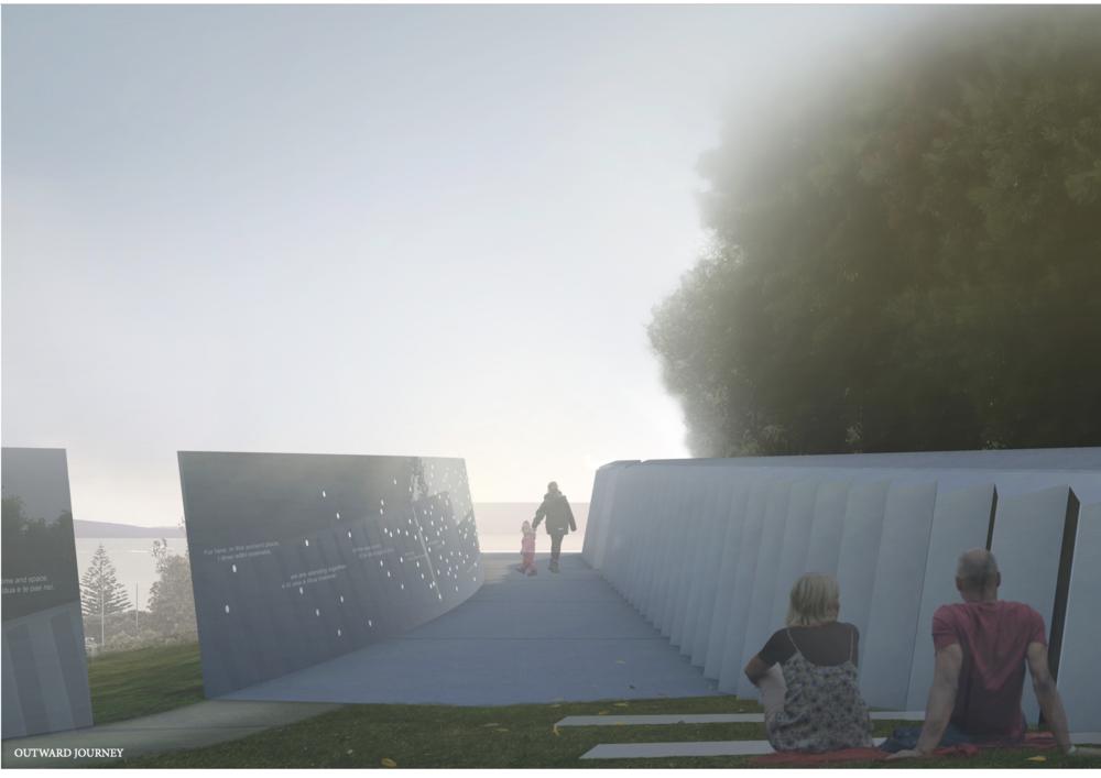 Studio Pacific Architecture's winning design.