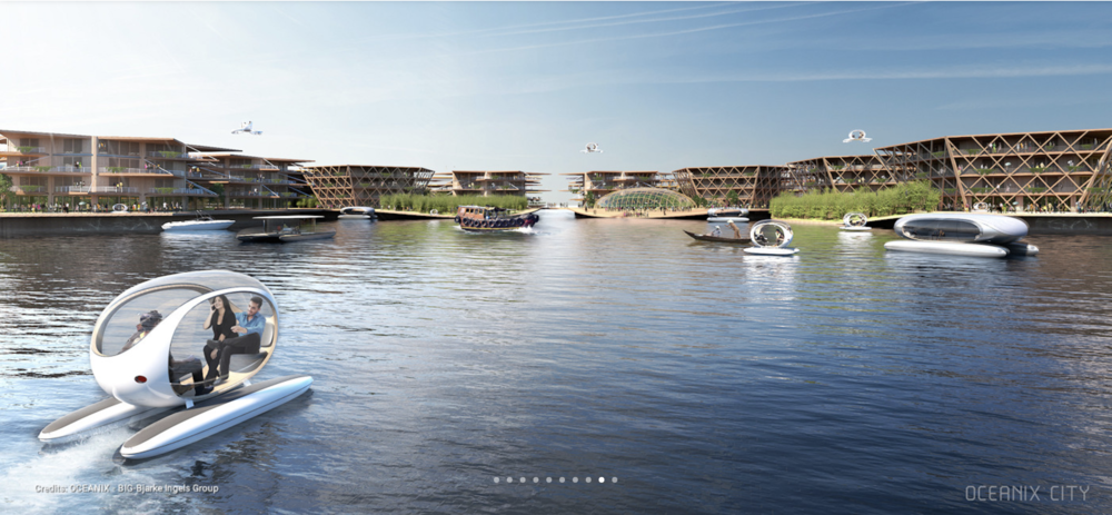 Oceanix says  its sustainable cities are designed for energy efficiency