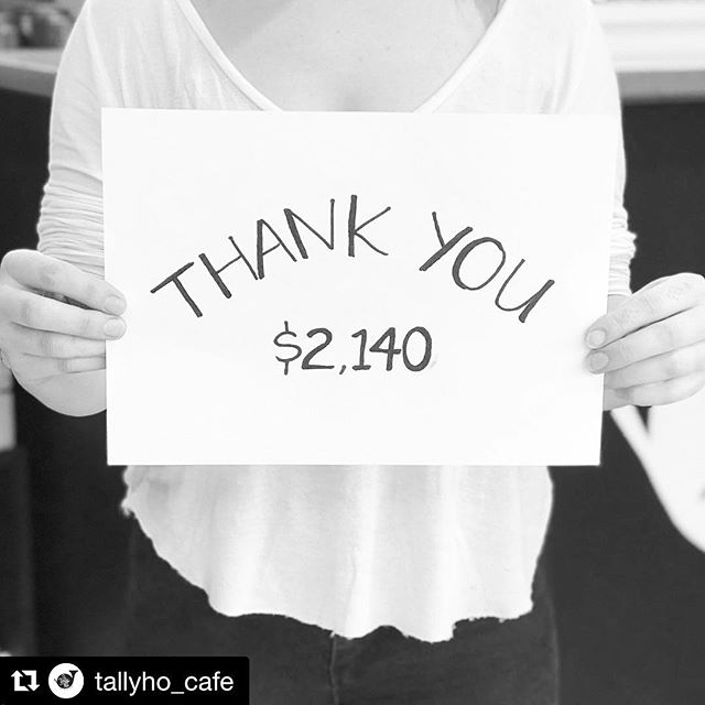 T H A N K  Y O U ! 🙏🏽 $2140 raised in May for Cancer Council Australia 💛  #Repost @tallyho_cafe with @get_repost ・・・ THANK YOU to everyone who donated big + small throughout the month of May for Cancer Council Australia's Biggest Morning Tea ☕️🍰 between @tallyho_cafe + @lower_east we raised $2140 for @cancercouncil 💛💛💛 after losing a family member to cancer just weeks before our fundraising began, this cause was, + is so important to us + we truly appreciate all who helped us crack (only just!!!) our $2000 target 🙏🏽 thanks also to the @brownsugarespresso team who donated their tips to support our fundraising efforts 💕 #thankyou #cancercouncilaustralia #cancersucks