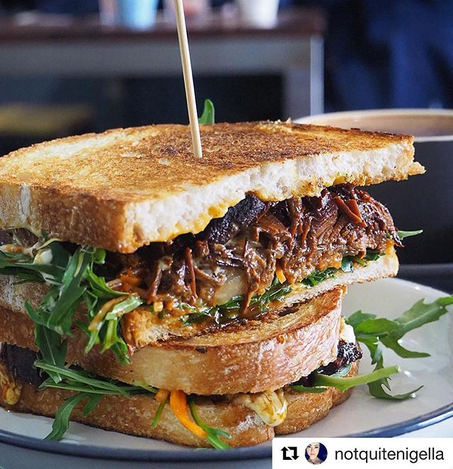 🙏🏽 thanks for stopping by today @notquitenigella 🥪 enjoy exploring the beautiful south coast 👌🏽 . . . #Repost @notquitenigella with @get_repost ・・・ It's national toastie day so naturally I had to oblige! First stop towards the South Coast is for brunch at @lower_east in Wollongong for a beef brisket toastie and stovetop salted caramel almond hot chocolate with toasted marshmallows 🥪 ☕️ @visitnsw #notquitenigellavisit #alldaymenu #beefbrisket #shepherdsbakesourdough #wollongongeats #wollongongfoodie #destinationwollongong #destinationnsw #lowereastcafe