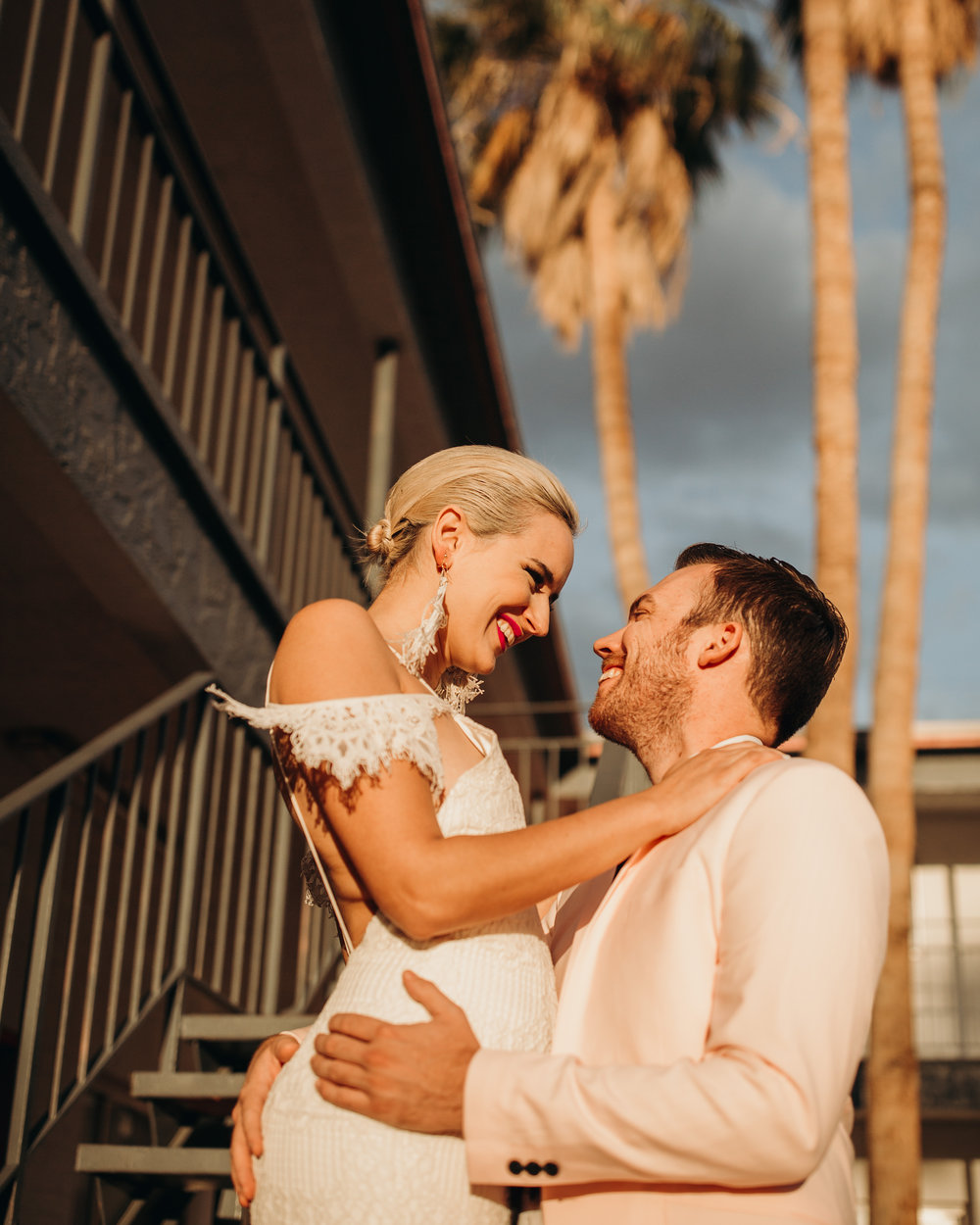 Iconic Vegas wedding at Fun City Motel