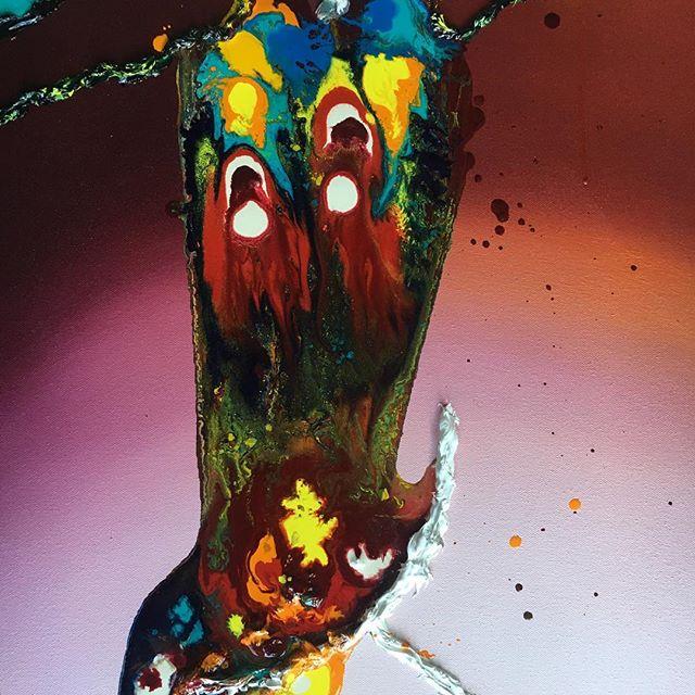 When the everything kicks in ( ) ( ) #art #sfart #sfartist #artwork #artist #painting #paint #oilpainting #gallerypainting #laart #nycart #brooklynart #londonart #losangelesart #painter #artcollector #artcurator #contemporaryart #modernart #abstractart #fineart #arte #paintingoftheday #abstractexpressionism #process #artstudio #artmarketsf #hunterspoint #sanfrancisco