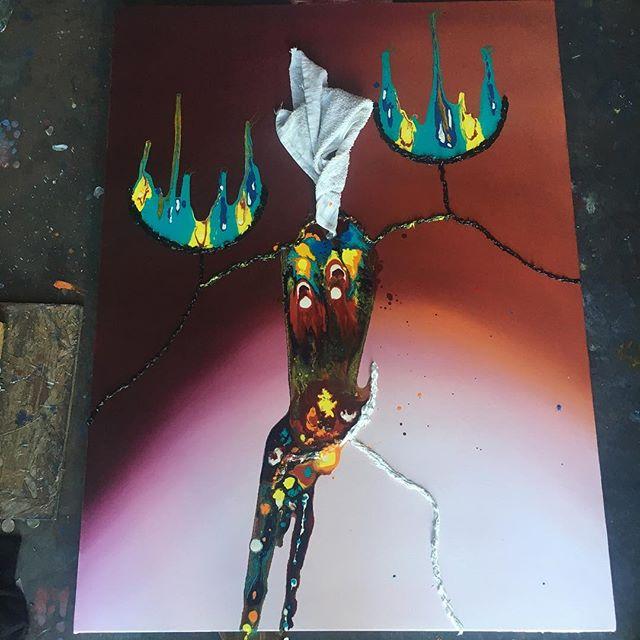 ? ( ) ( ) #art #sfart #sfartist #artwork #artist #painting #paint #oilpainting #gallerypainting #laart #nycart #brooklynart #londonart #losangelesart #painter #artcollector #artcurator #contemporaryart #modernart #abstractart #fineart #arte #paintingoftheday #abstractexpressionism #process #artstudio #artmarketsf #hunterspoint #sanfrancisco