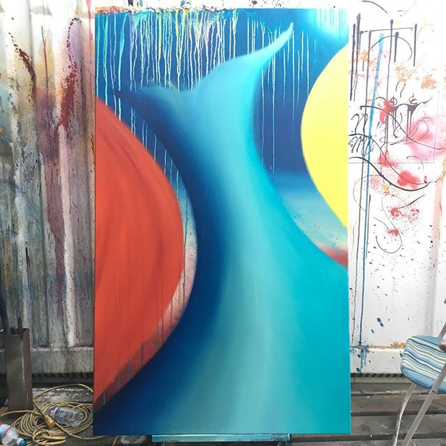 Issa progress ( ) ( ) #art #sfart #sfartist #artwork #artist #painting #paint #oilpainting #gallerypainting #laart #nycart #brooklynart #londonart #losangelesart #painter #artcollector #artcurator #contemporaryart #modernart #abstractart #fineart #arte #paintingoftheday #abstractexpressionism #process #artstudio #artmarketsf #hunterspoint #sanfrancisco