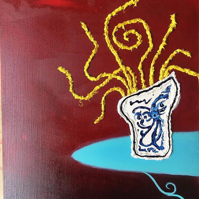 Issa coming along, oil paintings take eternity ( ) ( ) #art #sfart #sfartist #artwork #artist #painting #paint #oilpainting #gallerypainting #laart #nycart #brooklynart #londonart #losangelesart #painter #artcollector #artcurator #contemporaryart #modernart #abstractart #fineart #arte #paintingoftheday #abstractexpressionism #process #artstudio #artmarketsf #hunterspoint #sanfrancisco