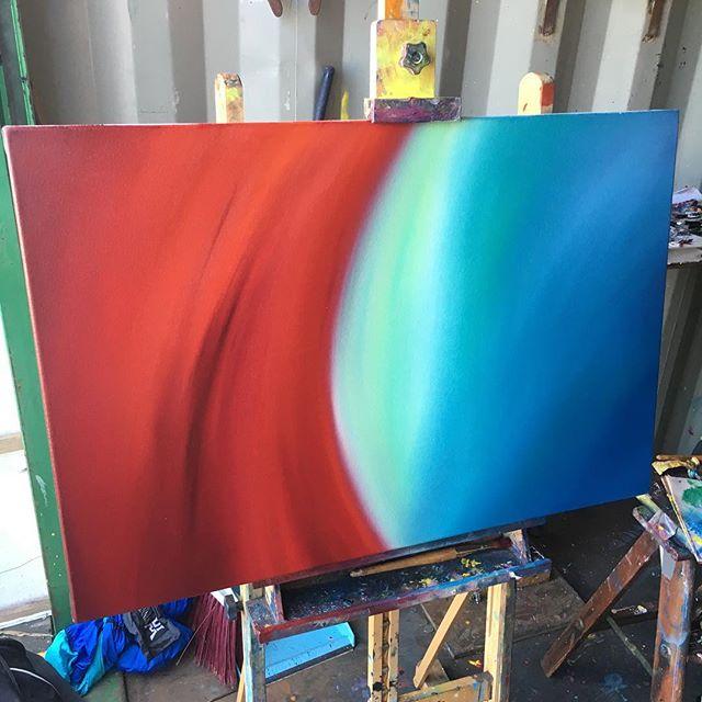 Beethoven Symphony No. 7 in A Major Op.92 Allegretto base layer ( ) ( ) #art #sfart #sfartist #artwork #artist #painting #paint #oilpainting #gallerypainting #laart #nycart #brooklynart #londonart #losangelesart #painter #artcollector #artcurator #contemporaryart #modernart #abstractart #fineart #arte #paintingoftheday #abstractexpressionism #process #artstudio #artmarketsf #hunterspoint #sanfrancisco