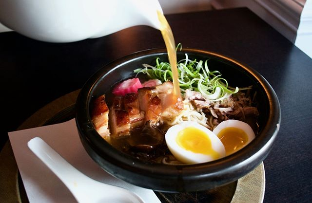 Braised Pork Belly Ramen from @aziemedia