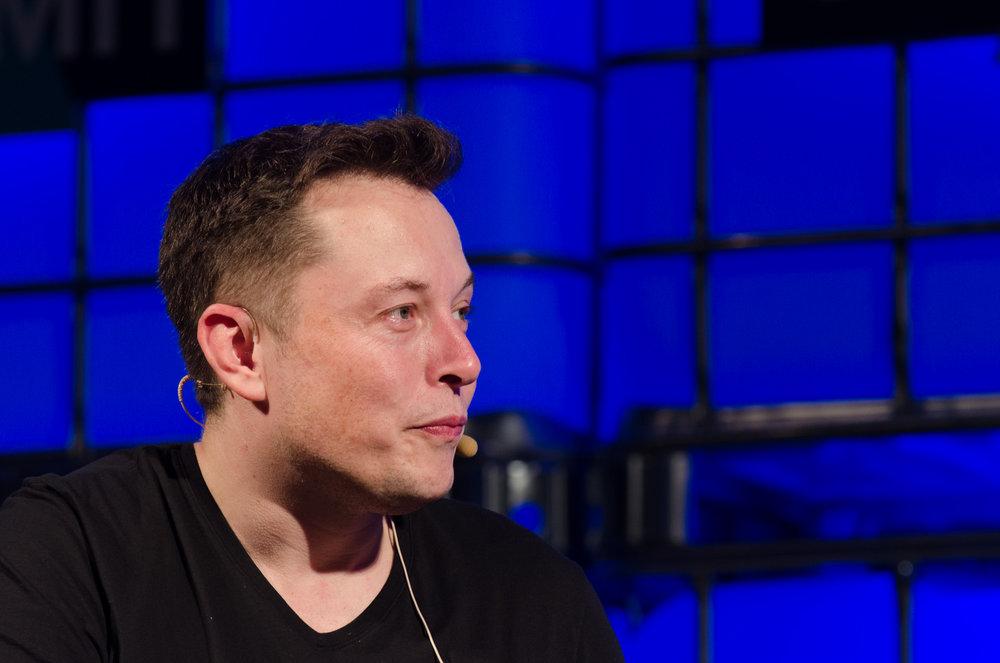 Elon Musk - Photo Credit Web Summit (Creative Commons)
