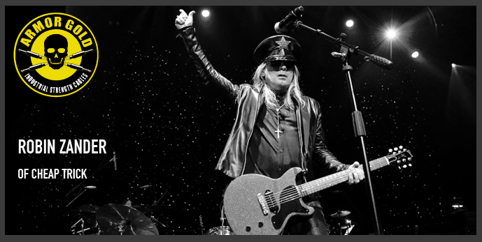 ROBIN ZANDER OF CHEAP TRICK