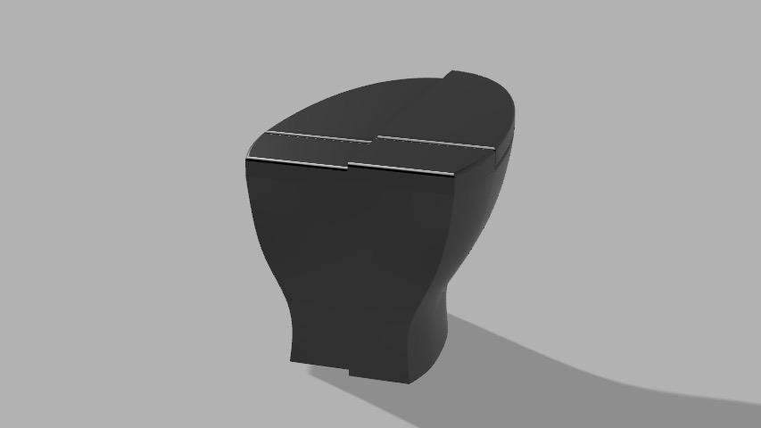 Fusion render of final design