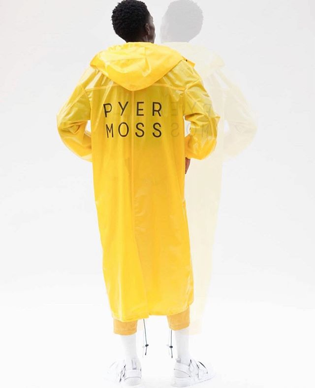 Pyer Moss is a New York based black owned high fashion brand. Not only do they shake the table in the fashion world but they believe in pulling seats up to the table so everybody eats! This brand gives such a upbeat and fun flare to any look.  P.S if your just now finding out about @pyermoss  we forgive you✨🗣 ______________________________________ @moodboard_nyc @pyermoss @gunna @eboneedavis @kittisha_doyle  @kerbito @reebokclassics @reebok  _____________________________________ #fun #fashion #style #blackbloggers #yellow #melanin