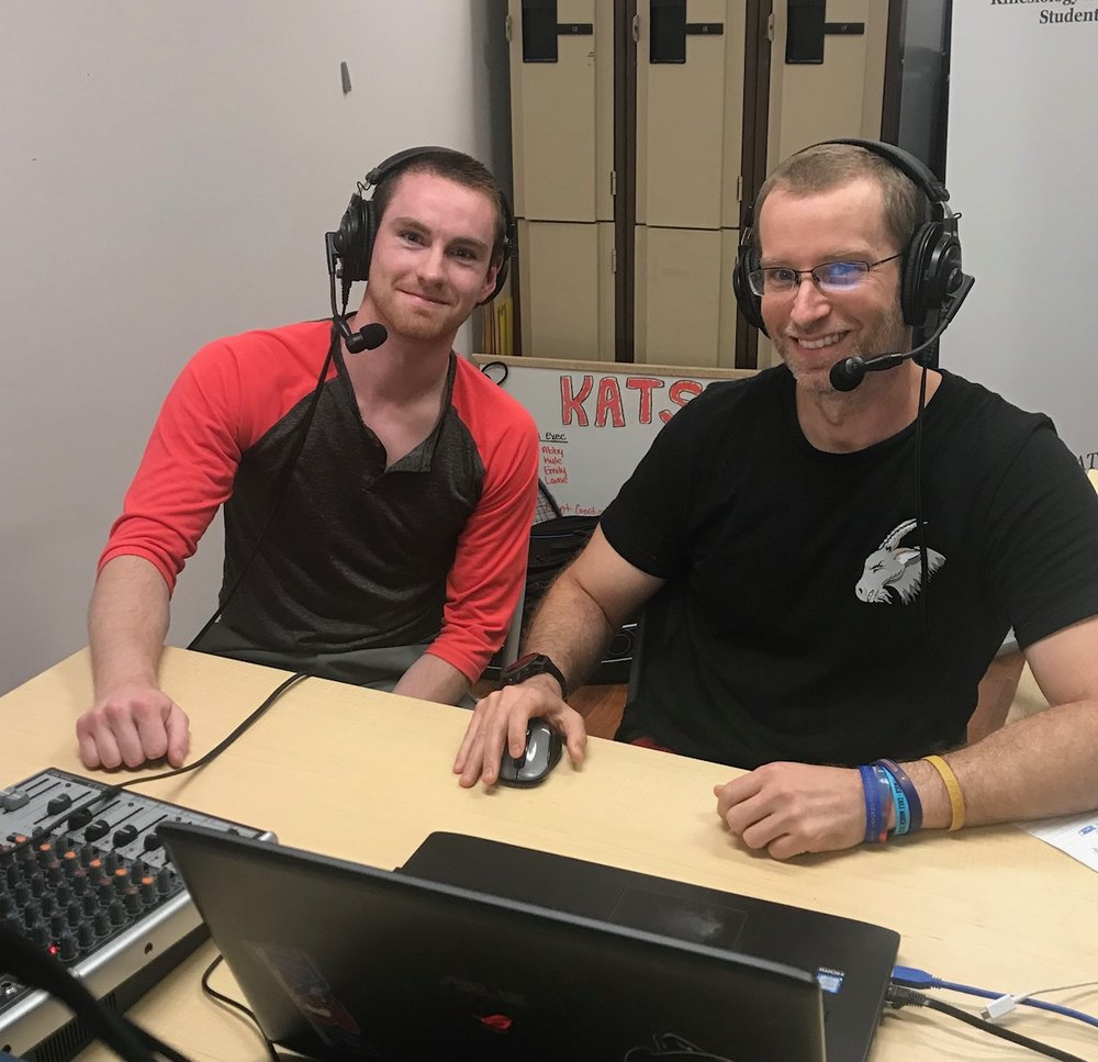 I provided commentary with the support of Mitch Brayley throughout the tournament. Photo credit: Jan Hanson
