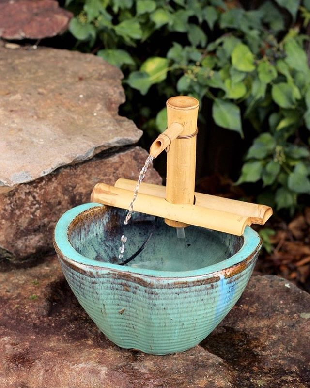 "Weekend plans? How about creating your own slice of paradise in your backyard? Our 7"" on Arms spout sits in any pot and can be set up in less than five minutes!"