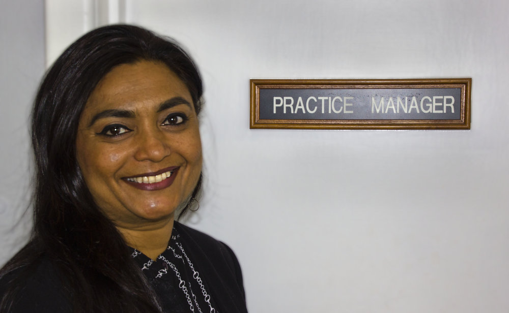 Our Practice Manager - Our full-time Practice Manager, Rita Patel, has worked in healthcare for more than 16 years. She is passionate about ensuring all patients are welcomed with a smile and leaving knowing that they have received the best service and care possible. Rita is the first point of contact for any account inquiries or concerns you may have.