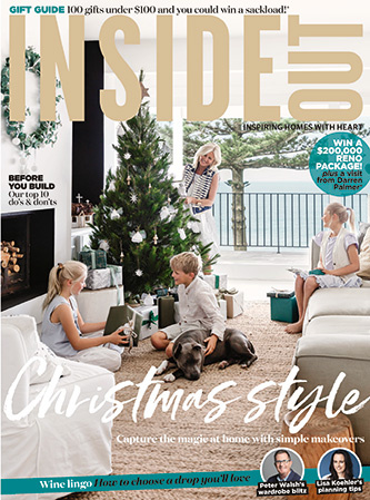 Inside Out November 2017   Ms BROWN was selected in Inside Out's 100 Christmas gifts under $100.    Click here to see the feature.