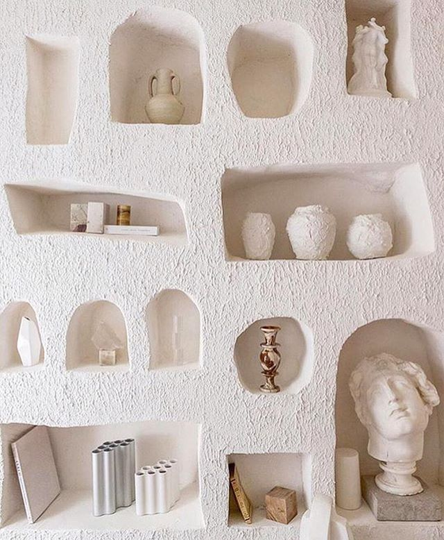 Beautiful shelving perfect for a Ms BROWN bottle via @studio_haddou_dufourcq @commabyron