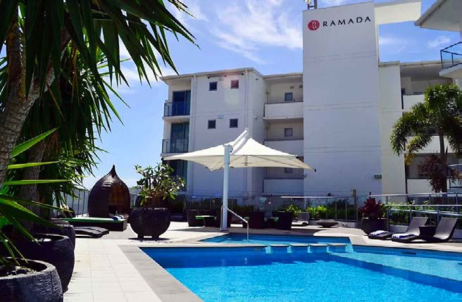 Ballina Package - Ramada Hotel & Suites Ballina 2 nights accommodation and return airfares.This season, escape the city and relax your senses in Ballina.Enjoy the laid back atmosphere and breathtaking naturalwonders of the region, partaking in rainforest walks, hot airballooning and whale watching. For a limited time only, ourBallina Packages offer luxury accommodation at the Ramada at Ballina, with return flights with FlyPelican.Ramada Hotel & Suites Ballina Byron is situated on the shores of the beautiful Richmond River with 115 stylishly appointed hotel rooms and suites featuring stunning water and hinterland views, we bring a new level of luxury to Ballina accommodation.Ramada Hotel & Suites Ballina Byron also offer a choice ofdining options and facilities to help you enjoy your stay.ex Newcastle $309 per person twin share (adult)★★★★