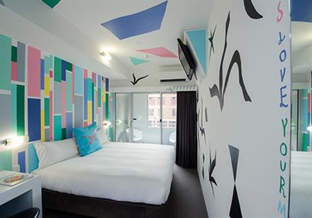 Majestic Minima Hotel - Majestic Minima Hotel 2 nights accommodation in a Unique Art Double Room, return airfares ex NewcastleStarting from $449*per person twin share★★★☆