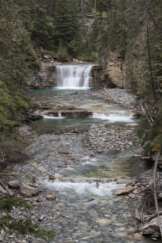 Random waterfall along the trail