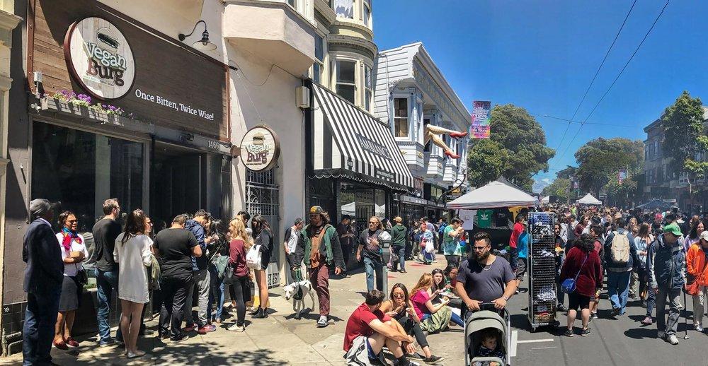San Francisco Vegan Restaurants: Healthy Fast Food   VeganBurg