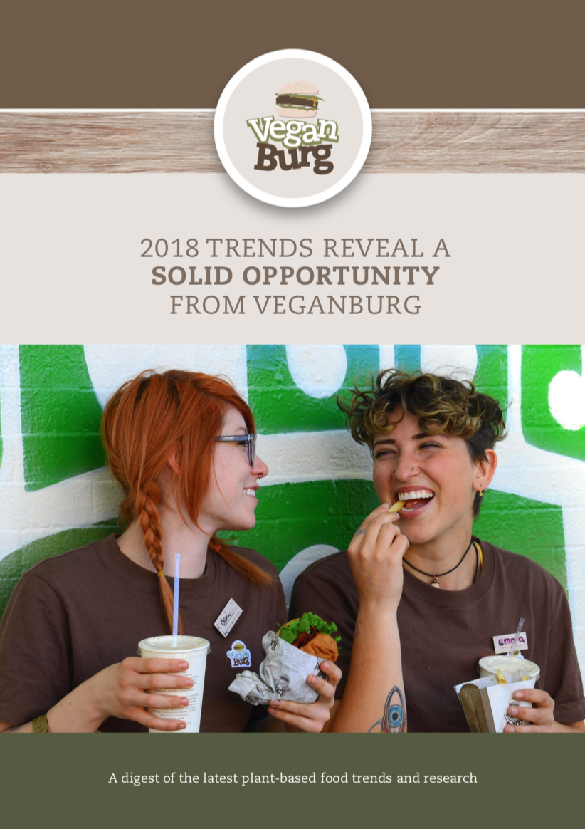 2018 Trends Reveal a Solid Opportunity from VeganBurg - A digest of the latest plant-based food trends and research.