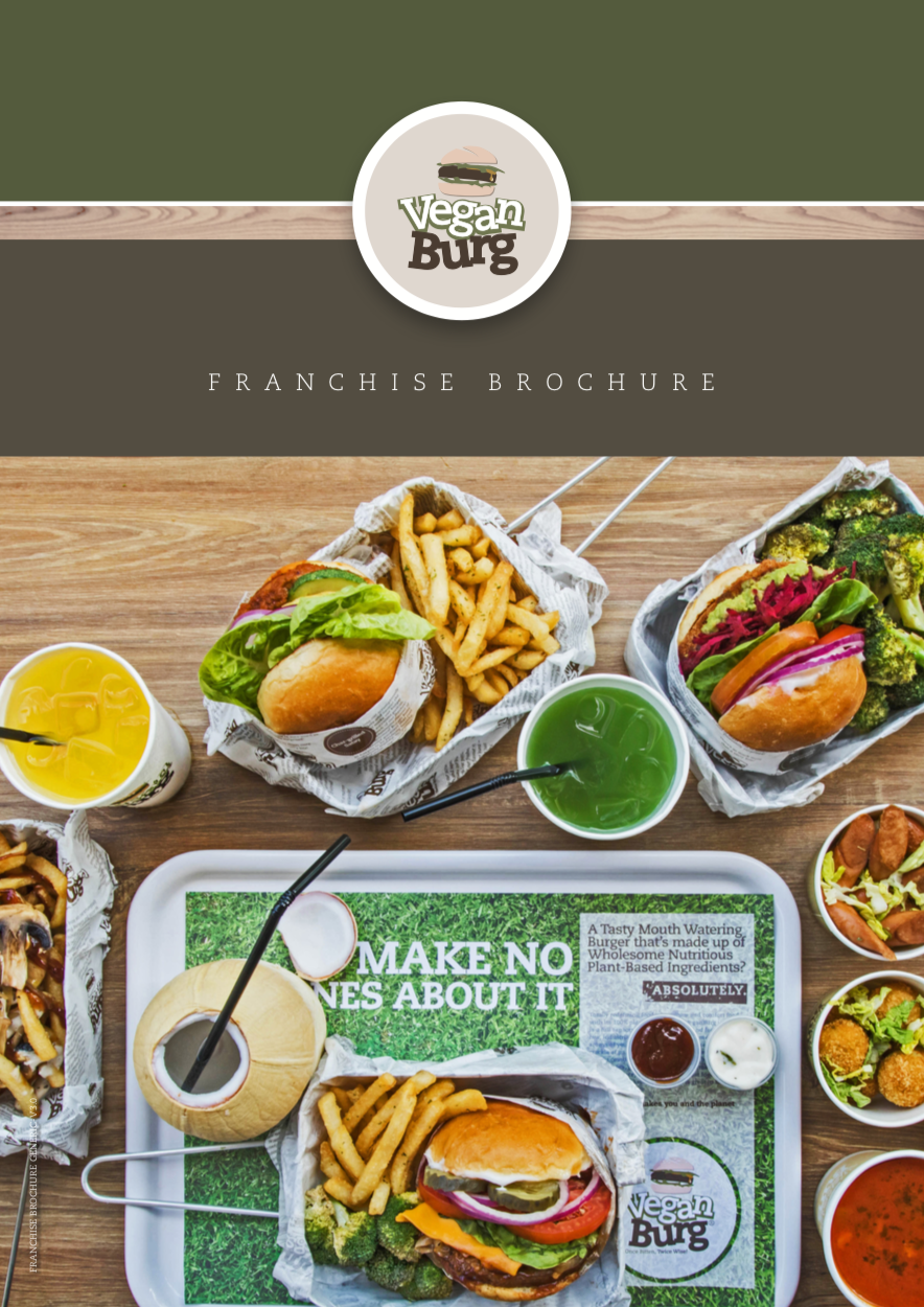 VeganBurg Franchise Brochure -