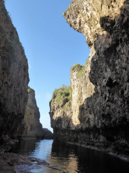 The easily accessible Matapa Chasm - a great place for a snorkel