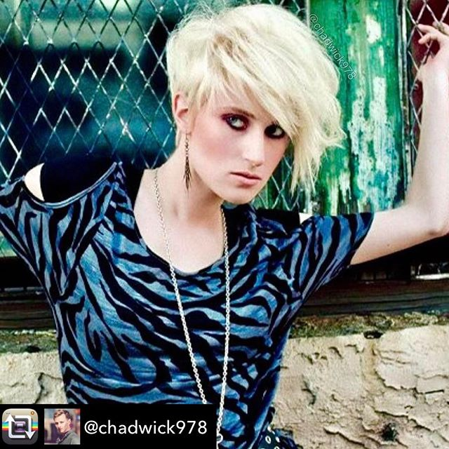 Repost from @chadwick978 using @RepostRegramApp - #livingtheblondelife is always fun! I loved styling this alternative look on @agenthughoe a while ago, using @joico Body Luxe Root Lift, and then finishing off with #joico Spiker Blast to keep it in place! 📸 @jstewphotostudio  #shorthairdontcare #michaelfloressalon #shorthair #model #textures
