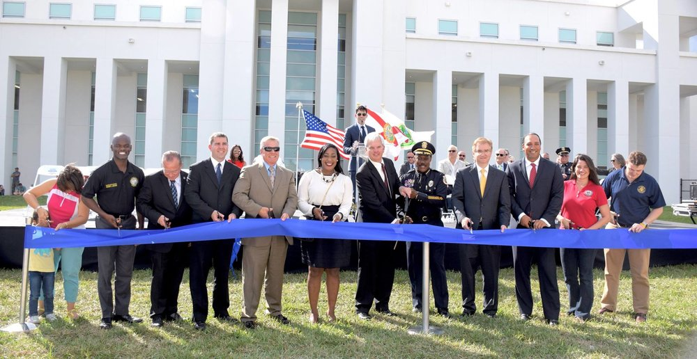 Homestead Police Station Ribbon Cutting