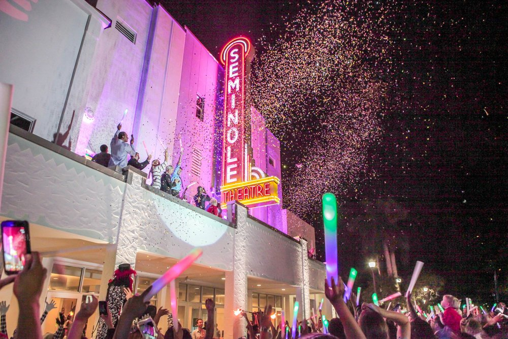 The Grand Opening of the Historic Seminole Theatre