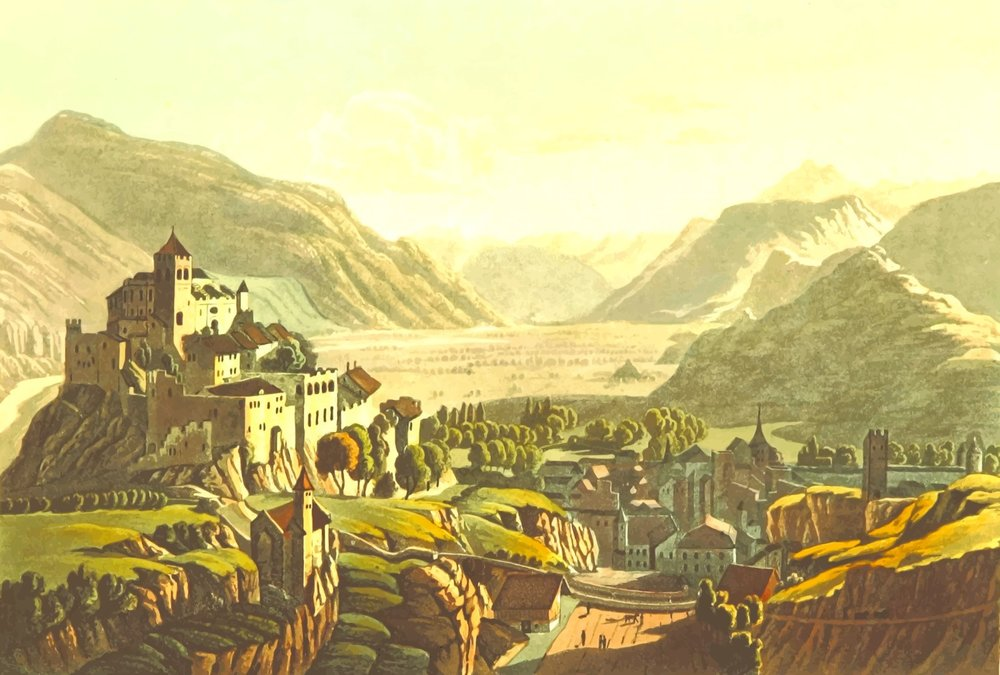 East view of Sion, by Firkin, openclipart.org