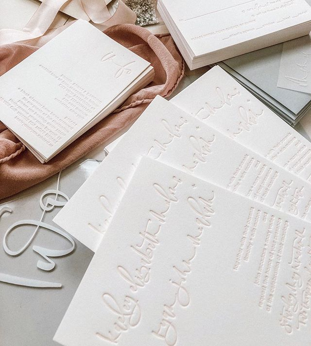Making a decision on a wedding dress today and I'M👏🏼SO👏🏼EX👏🏼CI👏🏼TED• • • • • #letterpress #letterpressinvitations  #bride #calligrapher #calligraphyinvitations #seattlecaligrapher