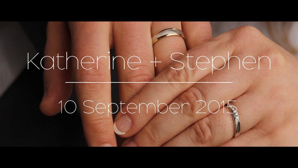 Katherine + Stephen -