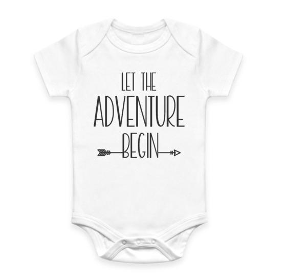 28592420ccd0 Let the Adventure Begin  Onesie — The Nest Australia
