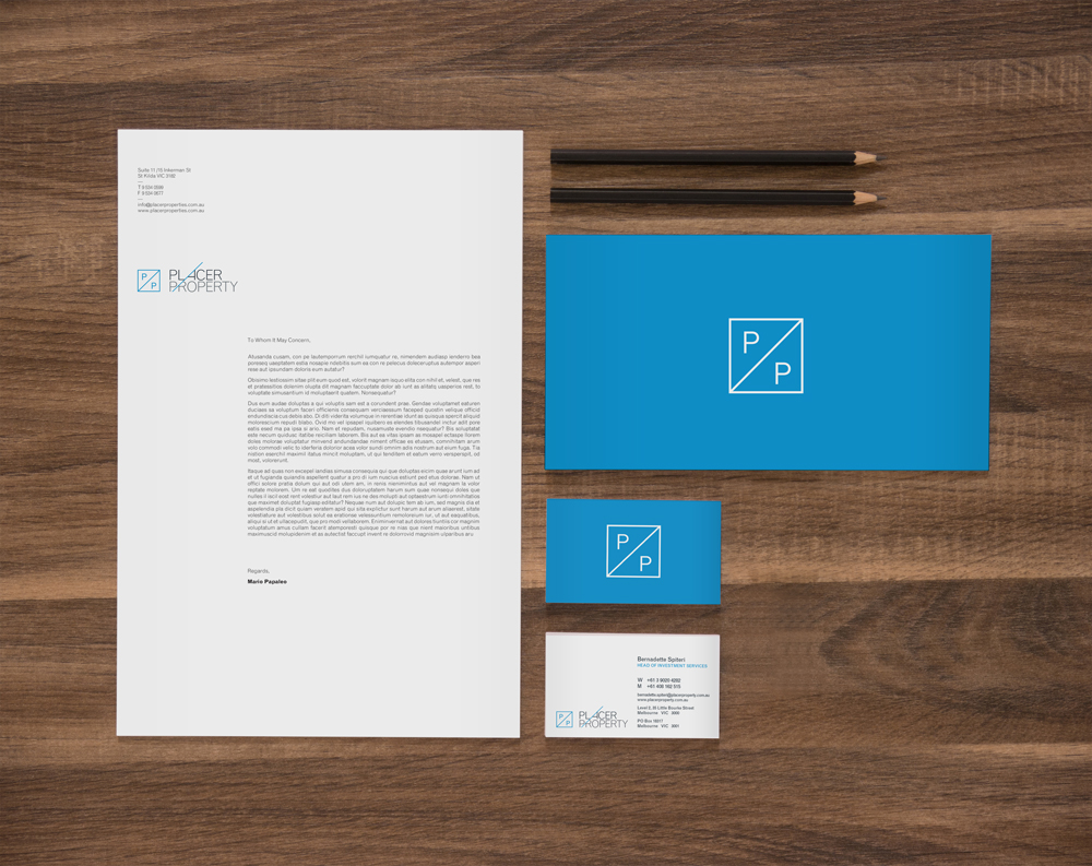 PLACER PROPERTY  //  BRANDING