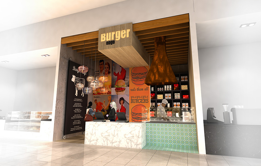 BURGER EDGE  //  PACKAGING & MARKETING
