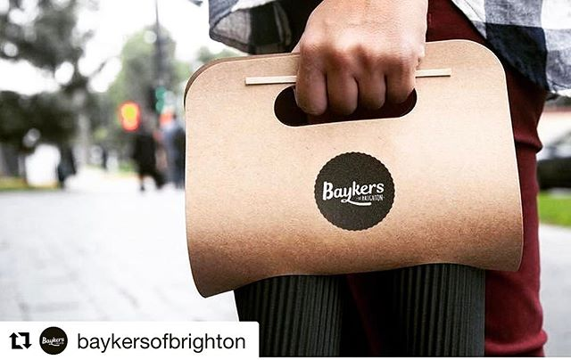 👉🏼👀👈🏽 Love seeing our hard work come to life. We were lucky enough to completely brand this new cafe in Brighton, from the logo to signage, right down to the packaging. Make sure you head on over to @baykersofbrighton for a delicious cup of joe ✊🏼🙋🏻