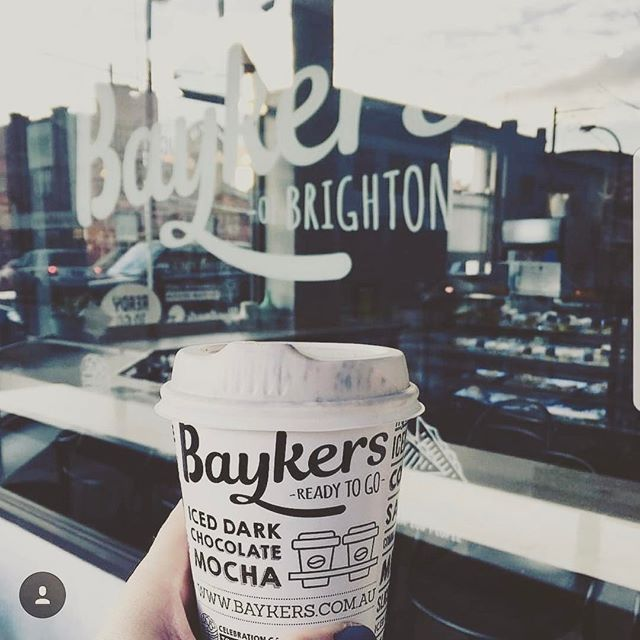 👉🏼👀👈🏽 Great to see our creative work in action. Complete branding package with cup design, created for local cafe @baykersofbrighton 🍩 #repost #fathomcreativestudio #graphicdesign #design #designstudio #designspiration #logo #logomark #logomaker #branding #brand #signage #environmentalgraphics #environmentaldesign #printdesign #print #vector #lovewhatyoudo #designer #packaging #packagingdesign