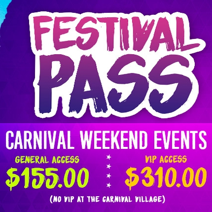 FULL FESTIVAL PASS - THE WHOLE WEEKEND!