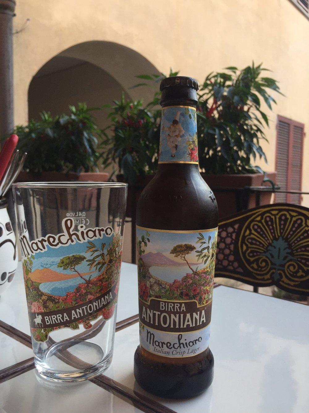 "birra antoniana ""Marechiaro"""