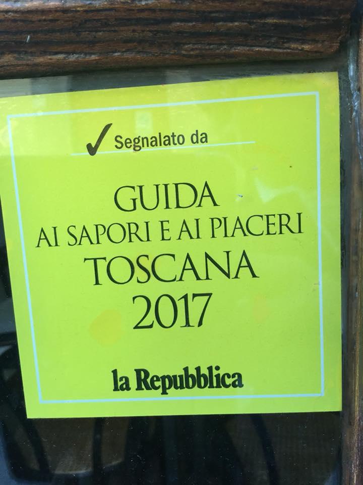Sapori e Piaceri Toscana 2017 - la Repubblica