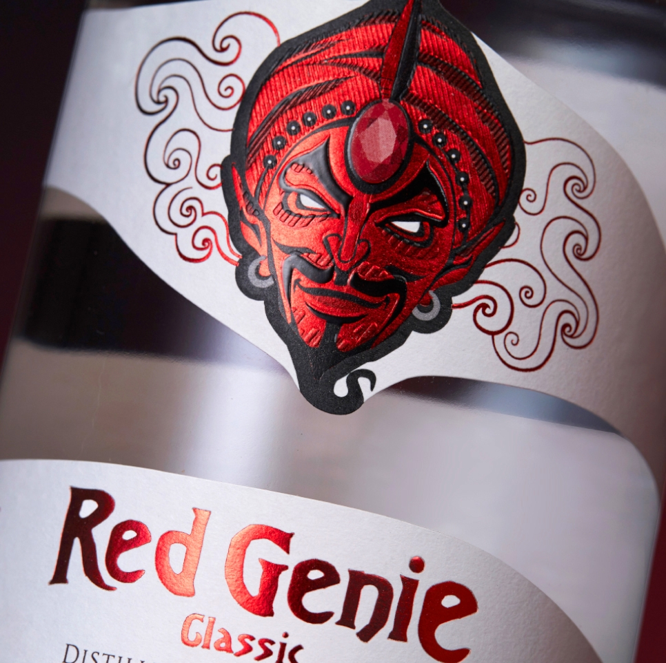 Red Genie Non-Alchoholic Spirit