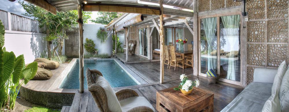 Une combinaison de confort et de luxe dans cette belle villa tropicale de 2 chambres à coucher !