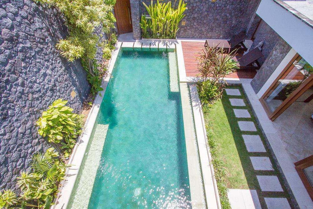 2 bedroom villa with pool