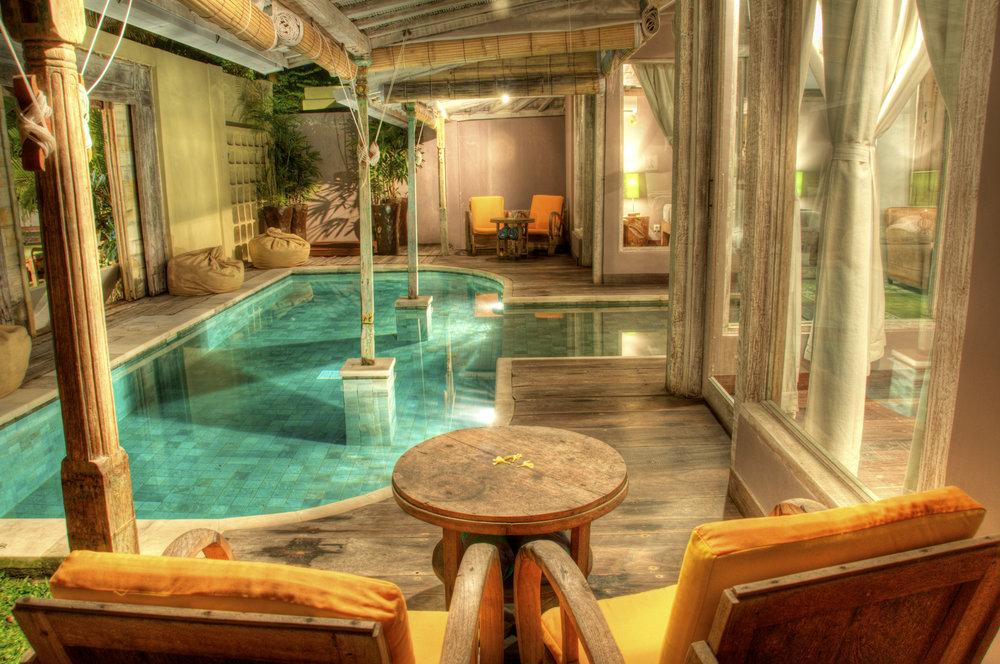 Maison exotique flambant neuve de 2 chambres, génial pour un séjour relaxant et excitant !