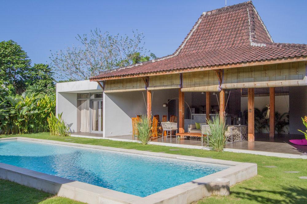 Authentique villa balinaise avec une superbe piscine !