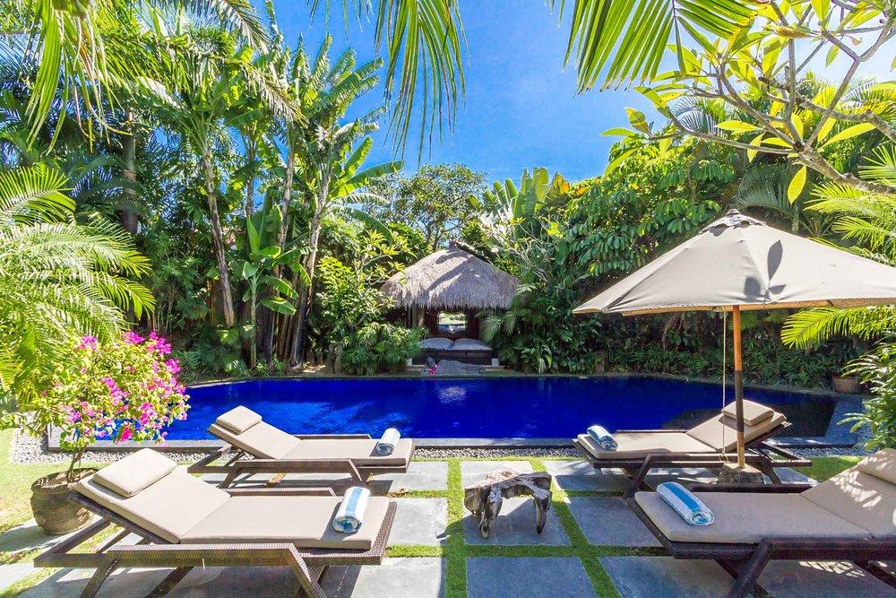 Villa balinaise avec 3 chambres et piscine à Umalas !