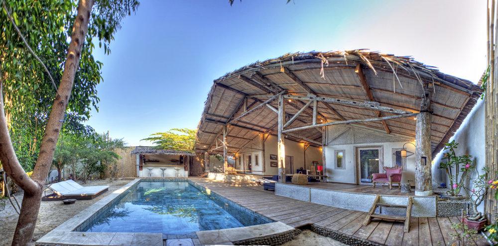 Vila Rumah Gili Islands Bali management villas